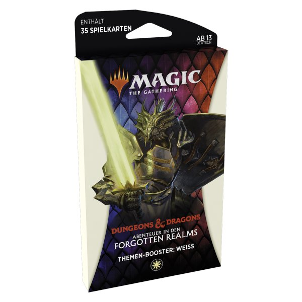 MTG - Adventures in the Forgotten Realms Theme Booster - Weiss
