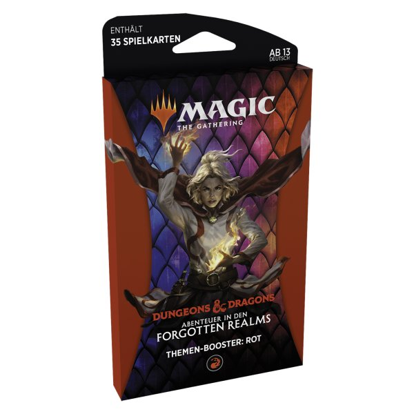 MTG - Adventures in the Forgotten Realms Theme Booster - Red