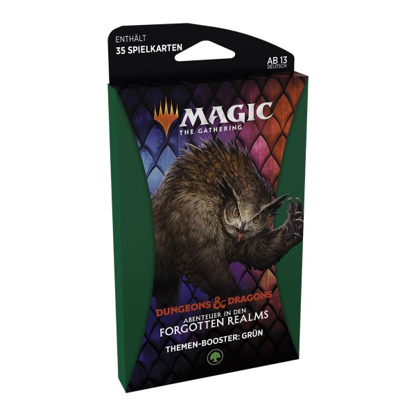 MTG - Adventures in the Forgotten Realms Theme Booster - Green