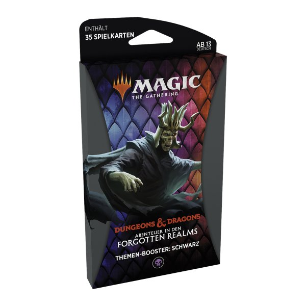 MTG - Adventures in the Forgotten Realms Theme Booster - Black