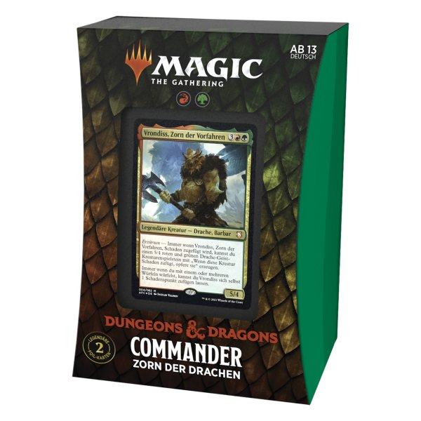 MTG - Adventures in the Forgotten Realms Commander Deck - Zorn des Drachens