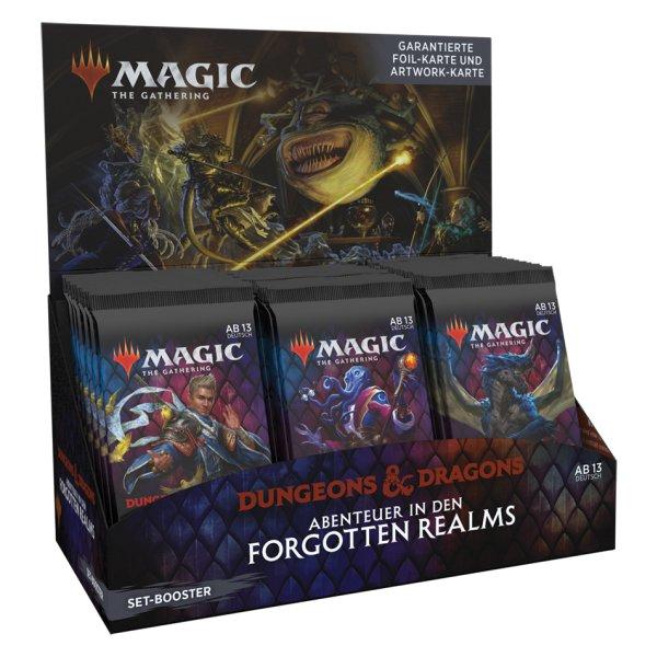 MTG - Adventures in the Forgotten Realms Set Booster Display (30 Packs) - DE