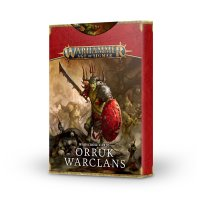 WARSCROLL CARDS: ORRUK WARCLANS DEUTSCH)