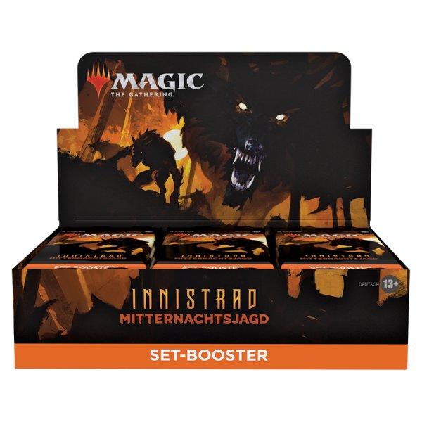 MTG - Innistrad: Midnight Hunt Set Booster Display (30 Packs) - EN