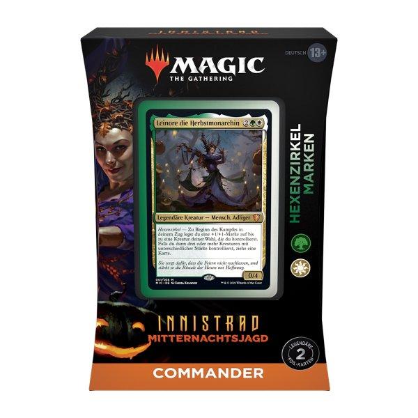 MTG - Innistrad: Mitternachtsjagd: Commander Deck -  Coven Counters
