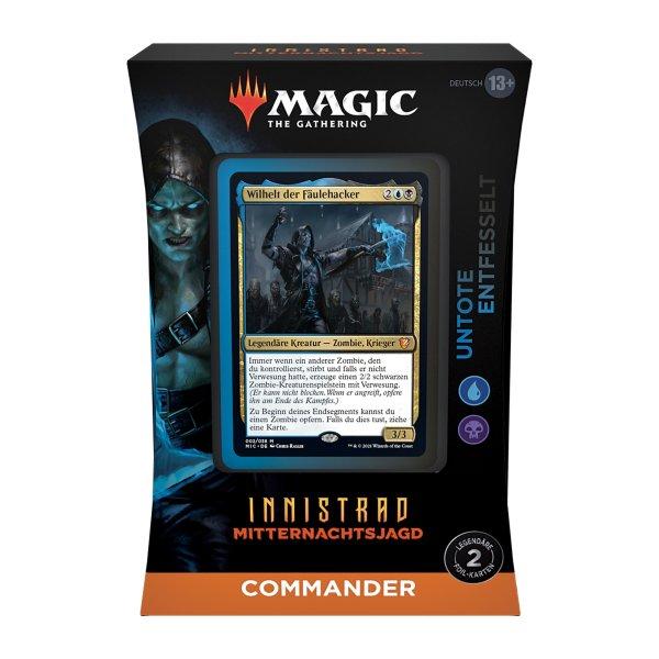 MTG - Innistrad: Mitternachtsjagd: Commander Deck - Undead Unleashed