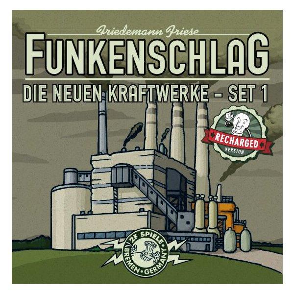Funkenschlag Erw. 3 (Recharged Version): Die neuen Kraftwerke - Set 1