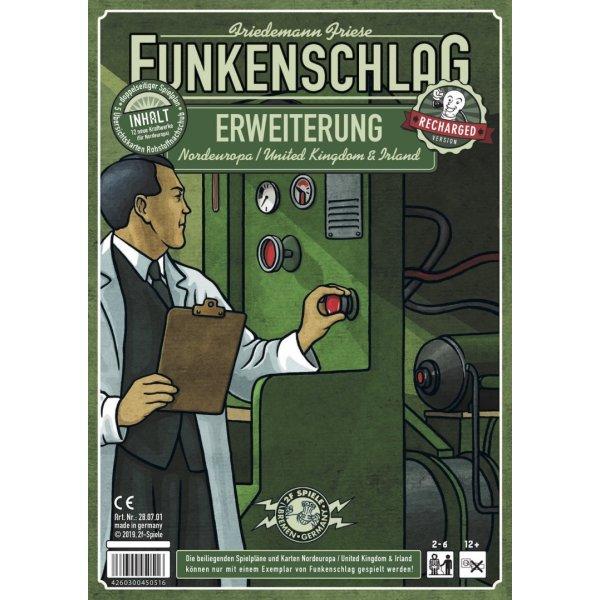 Funkenschlag Erw. 8 (Recharged Version): Nordeuropa/United Kingdom & Irland